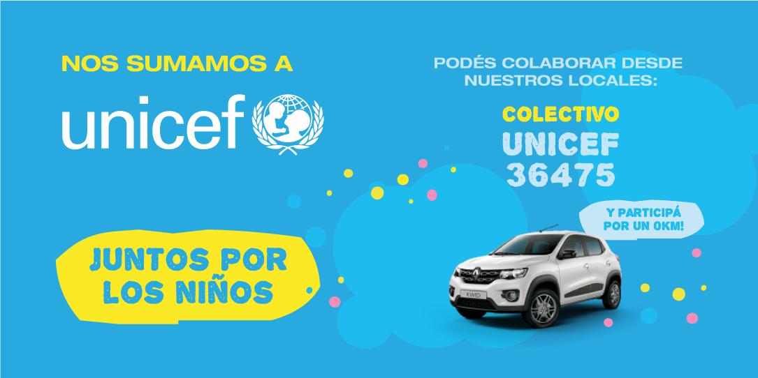 !Redpagos y Unicef Juntos por los niños!